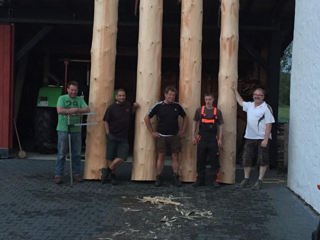 Die Holzhackerbuam: Holzmichel, Mario, Steffen, Tom, Ulrich